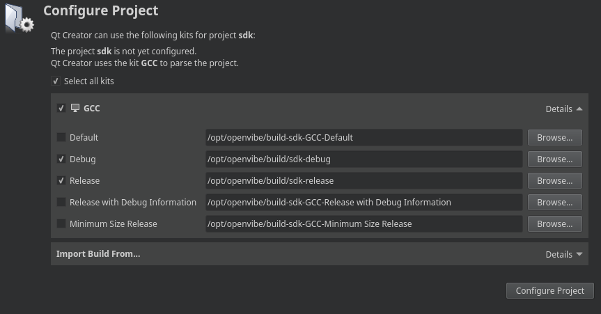 sdk-configure-project